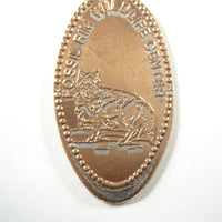 Pressed Penny: Fossil Rim Wildlife Center - Wolf