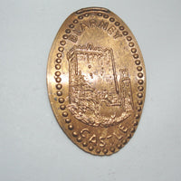 Pressed Penny: Blarney Castle from Ireland