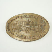 Pressed Penny: Oglebay - Wheeling, West Virginia - Train