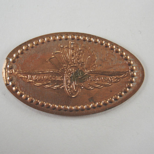 Pressed Penny: Inianapolis Speedway - Tire with Wings