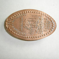 Pressed Penny: Arabia Steamboat Museum - Kansas City - Steamboat