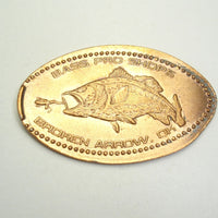 Pressed Penny: Bass Pro Shops - Broken Arrow, OK - Fish