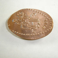 Pressed Penny: Buffalo Bill - Lookout Mountain, Colorado