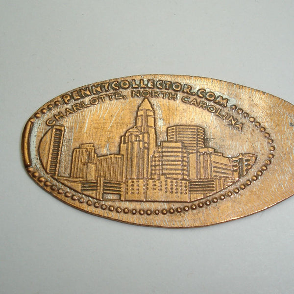 Pressed Penny: Charlotte, North Carolina - Cityscape