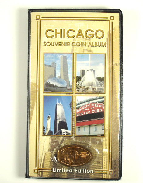 Chicago Souvenir Coin Album with Bonus Coin