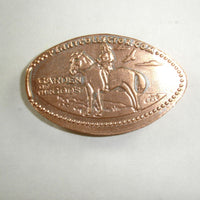 Pressed Penny: Garden of the Gods - Horse