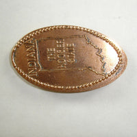 Pressed Penny: Indiana - The Hoosier State