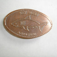 Pressed Penny: Key West Aquarium - Shark