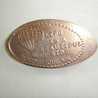 Pressed Penny: Life is a Beautiful Ride - Albuquerque, NM