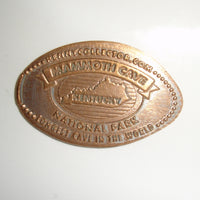 Pressed Penny: Mammoth Cave - Kentucky