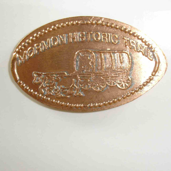 Pressed Penny: Mormon Historic Trail - Covered Wagon