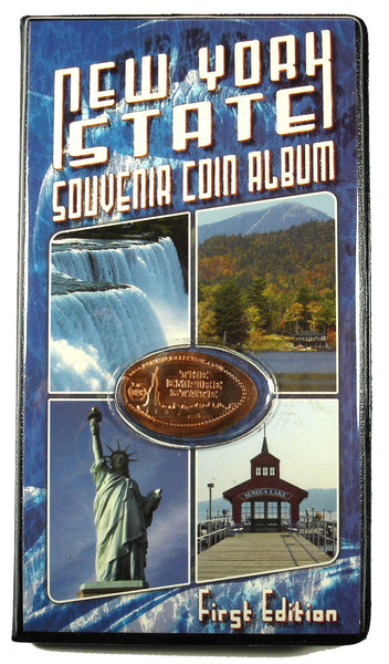 New York State Souvenir Coin Album with Bonus Coin