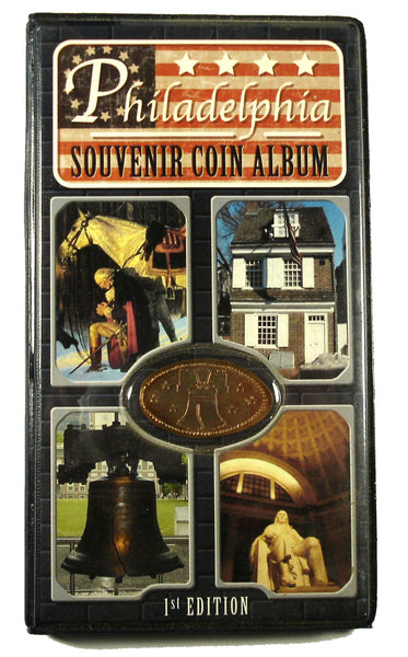 Philadelphia Souvenir Coin Album with Bonus Coin