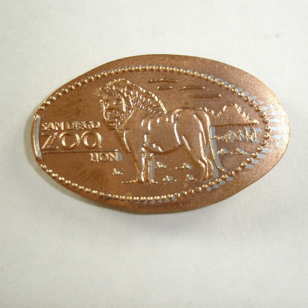 Pressed Penny: San Diego Zoo - Lion
