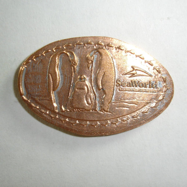 Pressed Penny: Seaworld - Penguins