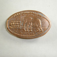 Pressed Penny: Six Flags Off Road Adventure - Elephant