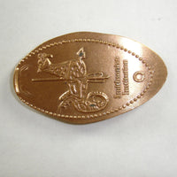 Pressed Penny: Smithsonian Institution - Carousel Dragon
