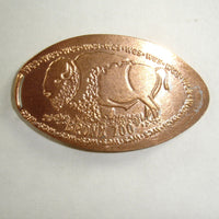 Pressed Penny: The Bronx Zoo - Bison