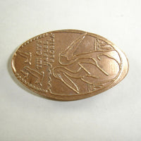 Pressed Penny: Tin City - Naples Florida - Pelicans
