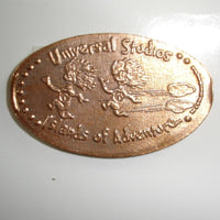 Pressed Penny: Universal Studios Islands of Adventure - Thing 1 and Thing 2