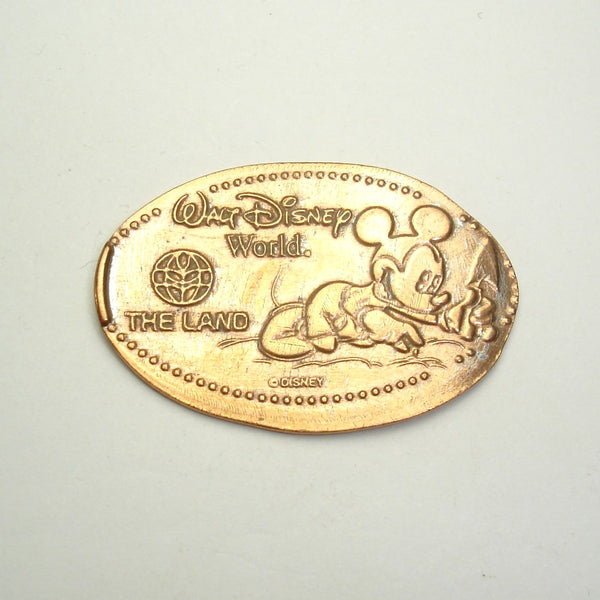 Pressed Penny: Walt Disney World - The Land - Mickey Gardener