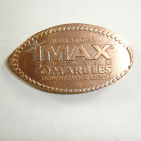 Pressed Penny: Well Fargo IMAX Theatre at Marbles Downtown Raleigh