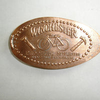 Pressed Penny: Winchester Products Museum - San Jose, California - Bike