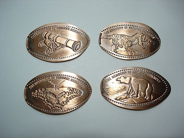 Academy of Natural Sciences 4 Coin Set