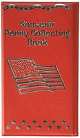 Souvenir Penny Collecting Book - Red (holds 36 pennies)