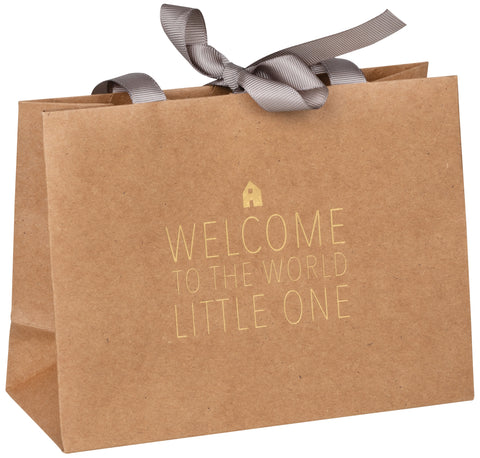 Baby Gift Bag - Welcome to the World Little One