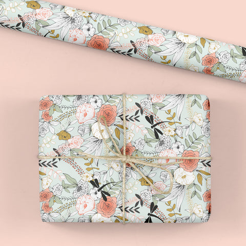 Dragonfly Gift Wrap