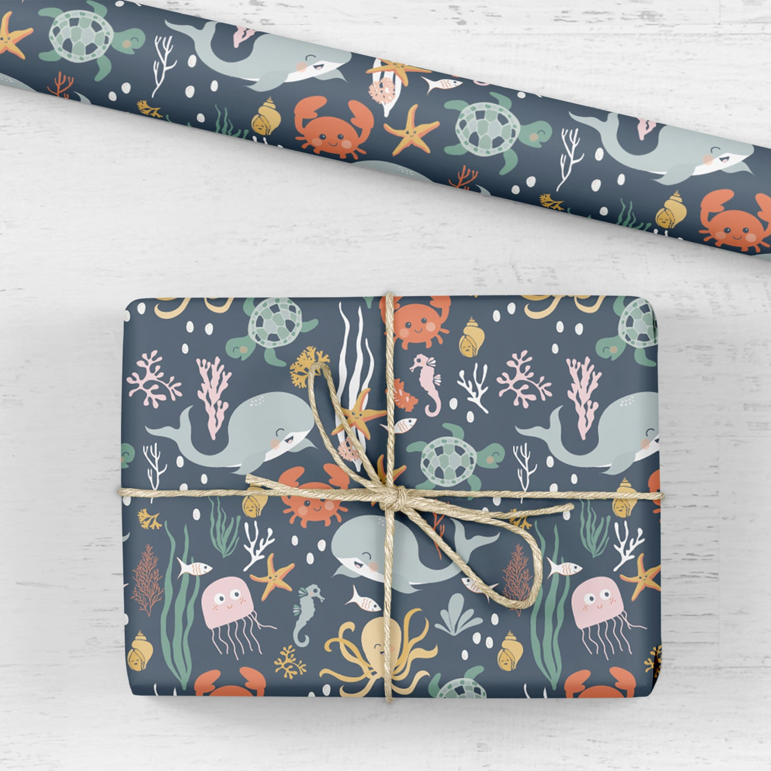 Under The Sea Gift Wrap