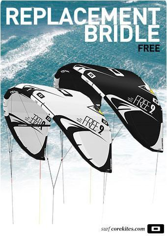 Replacement bridle line set for CORE Free