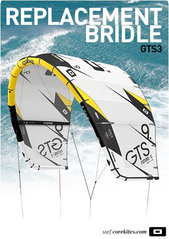 Replacement bridle line set for CORE GTS3