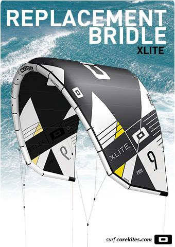 Replacement bridle line set for CORE XLITE