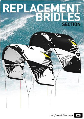 Replacement bridle line set for CORE Section 2