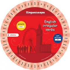English Irregular Verb Wheel