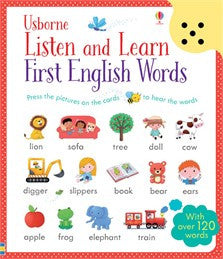 Listen and Learn First Words | English