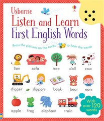 English First Words Listen and Learn