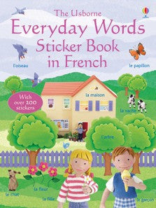 French |Everyday Words |Stickerbook