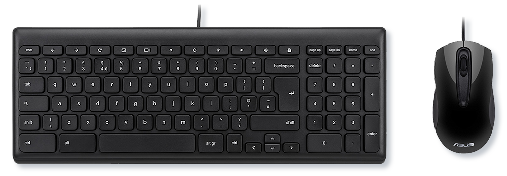 ASUS Keyboard & Mouse for Chrome OS