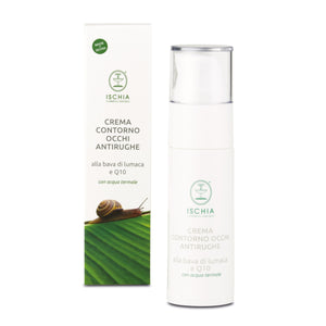 Snail slime and Q10 Anti-Wrinkle Eye Contour Cream - Airless bottle 30 ml