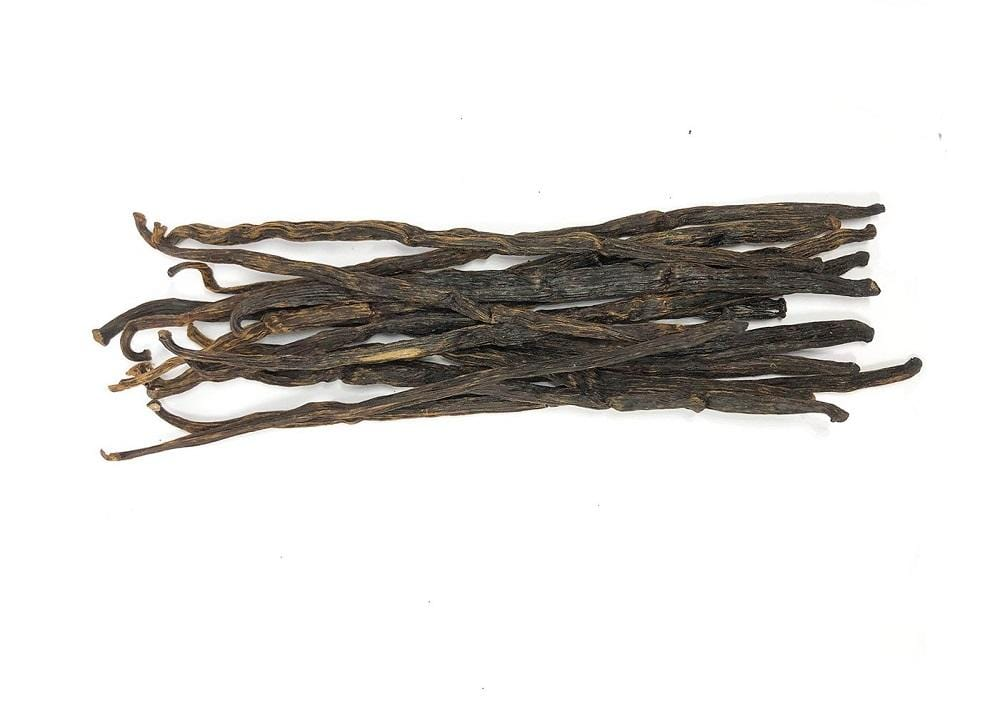 Extraction vanilla beans