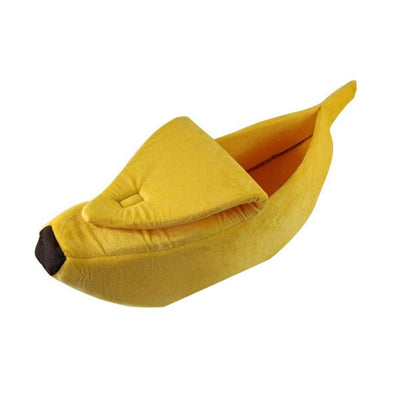 Banana Shape Cat Bed
