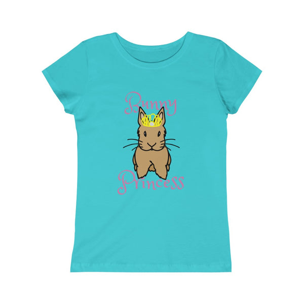"""Bunny Princess"" Girls Princess Tee - Bunnypapa"