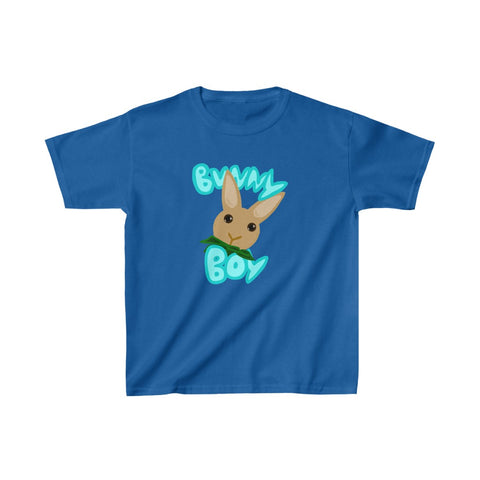 """Bunny Boy"" Kids Heavy Cotton™ Tee - Bunnypapa"