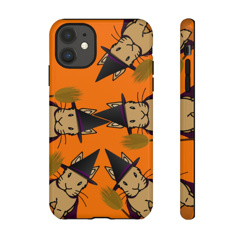 """Bunny Witch"" Protective iPhone Case - Bunnypapa"