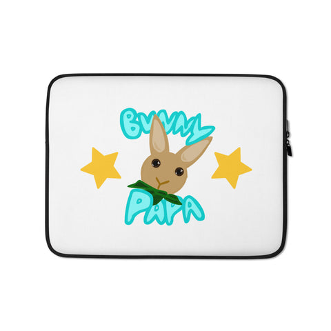 """Bunny Papa"" Laptop Sleeve - Bunnypapa"