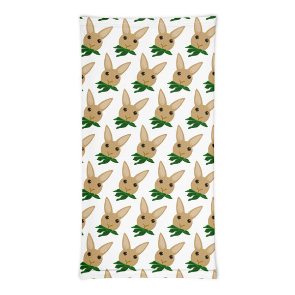 Mini Hungry Bunny Pattern Neck Gaiter - Bunnypapa