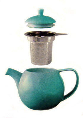 For Life Teapot with infuser and lid
